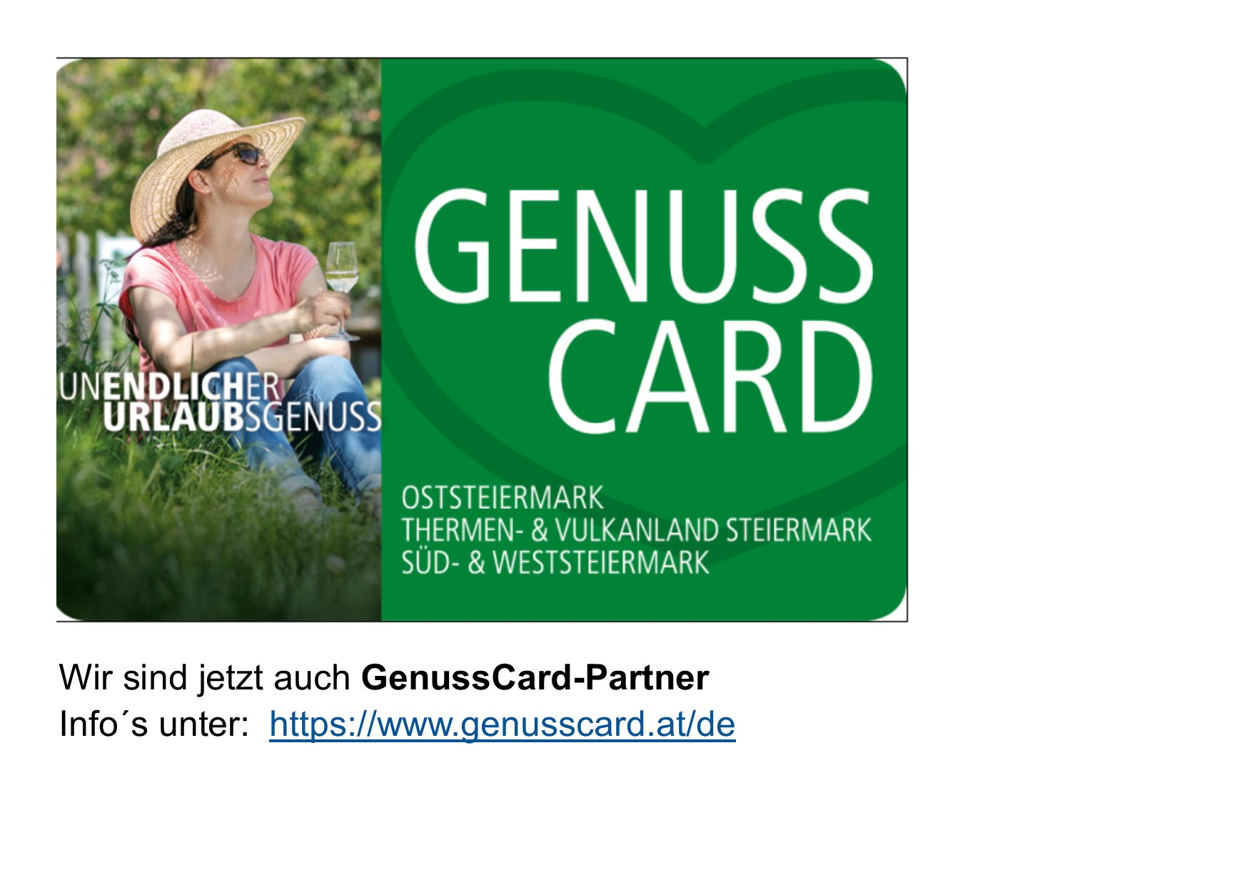 Genusscard Partner